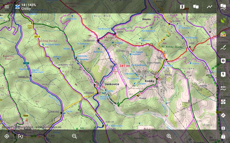 locus map karten