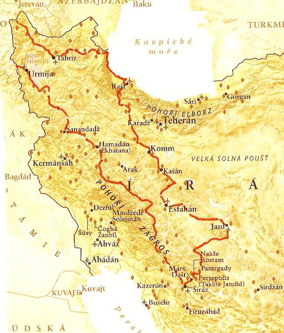 Iran stage