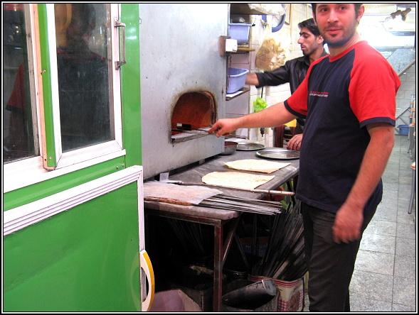 Kebap kiosk in Tabriz