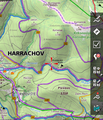 New shading system for maps. On image are online SmartMaps