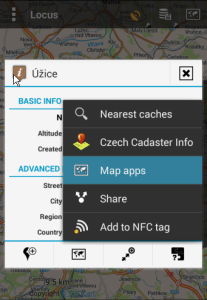 External navigation apps