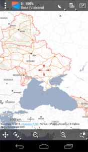 Visicom maps