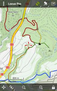 Offline vector maps Germany