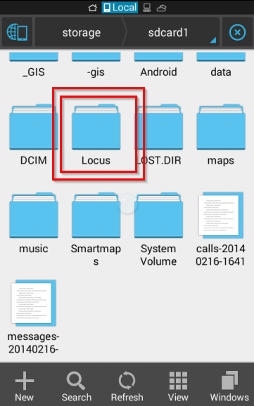 Locus Does Not Run Since Update Device To Android 4 4 2