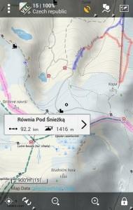 New offline database, winter maps
