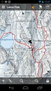 Swisstopo maps