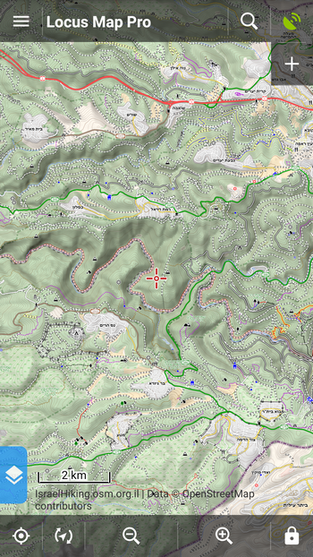 MTB mapa