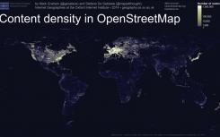 Hustota dat OpenStreet Map