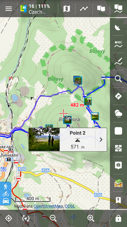 Locus map mobile outdoor navigation applocus gumiabroncs Image collections