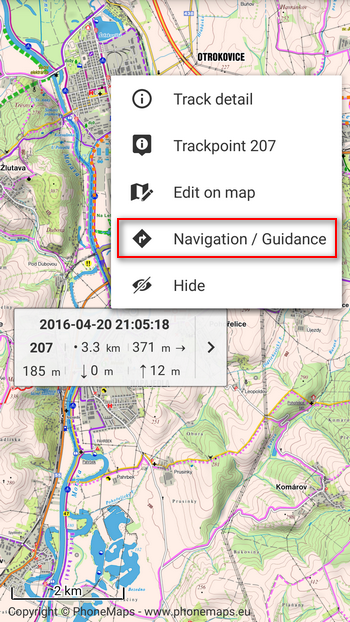 Mode To The Route Priority As For The Navigation Commands Locus Places Them Automatically On Places With The Most Remarkable Direction Changes