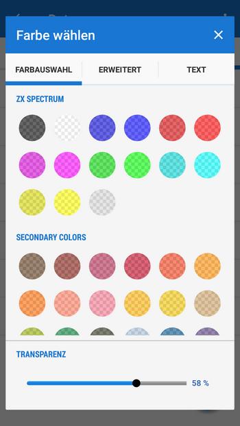 basic color palette