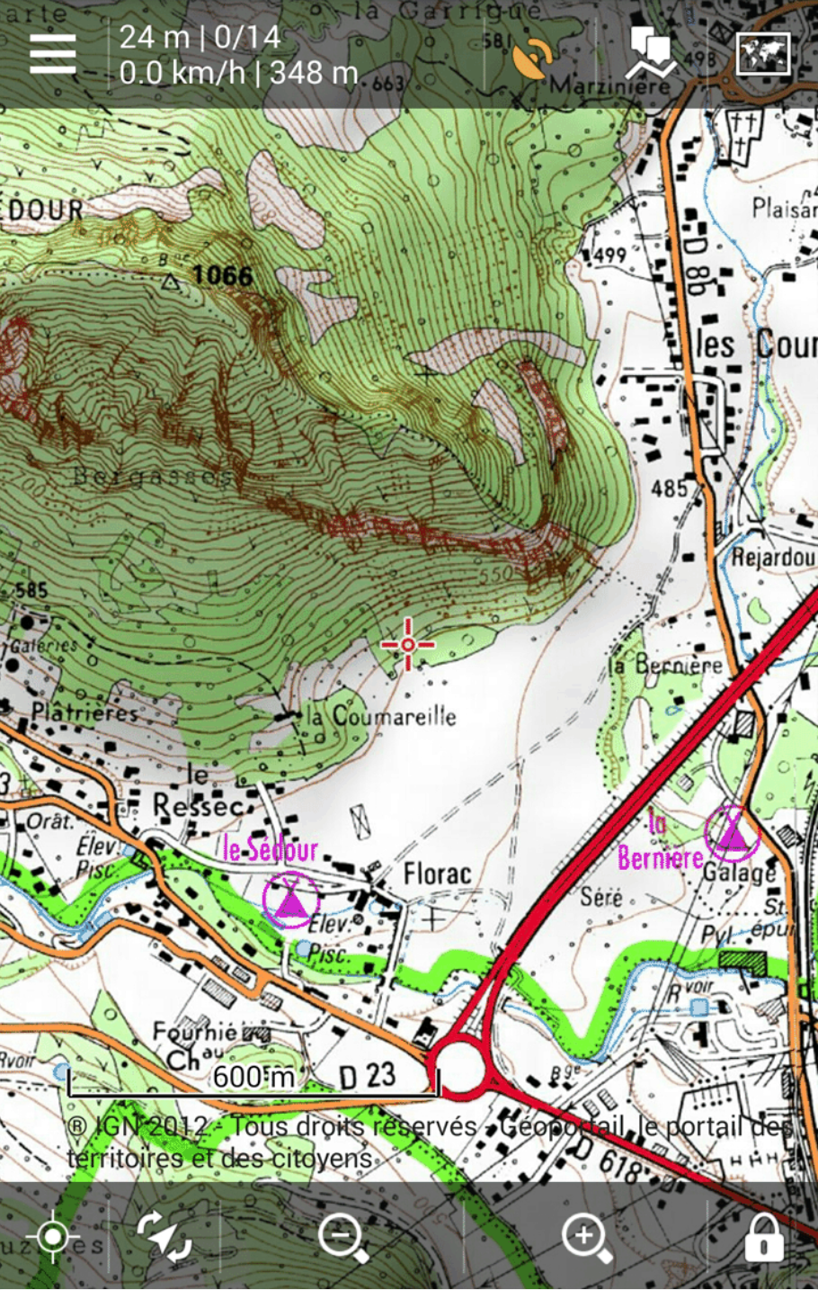 Hiking season in France starts with IGN offline maps in LocusLocus