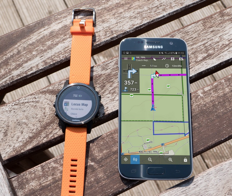 Navigate with Locus Map on your Garmin!Locus