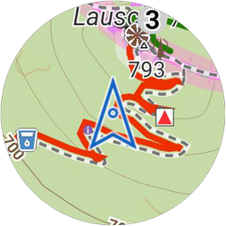 Locus Map Watch add-on ready also for Samsung wearablesLocus
