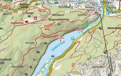 Mapa Bad Reichenthallu dnes