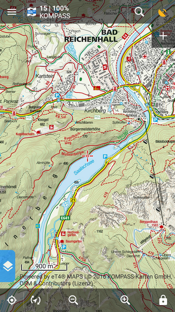 Bad Reichenhall Karte