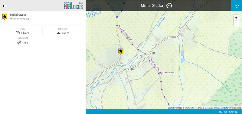 location tracking on a web site