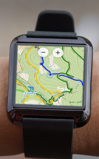 Navigate on your wrist with brand new Wear for Locus MapLocus