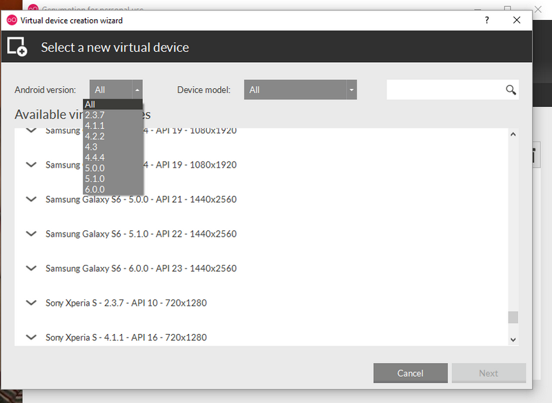 open device manager app