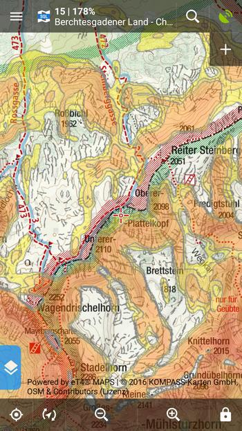 Kompass map
